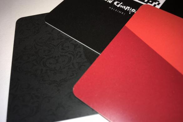 Matte Finish PVC cards