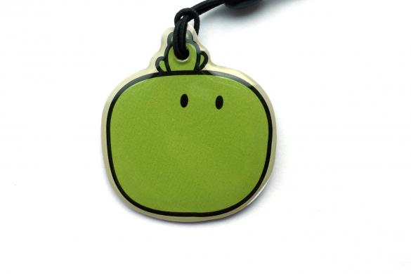 Custom Shaped Epoxy Coated Keyfob